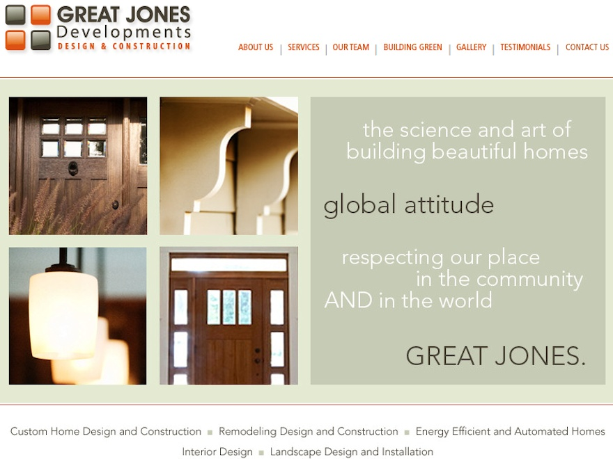 Great Jones Developments Design